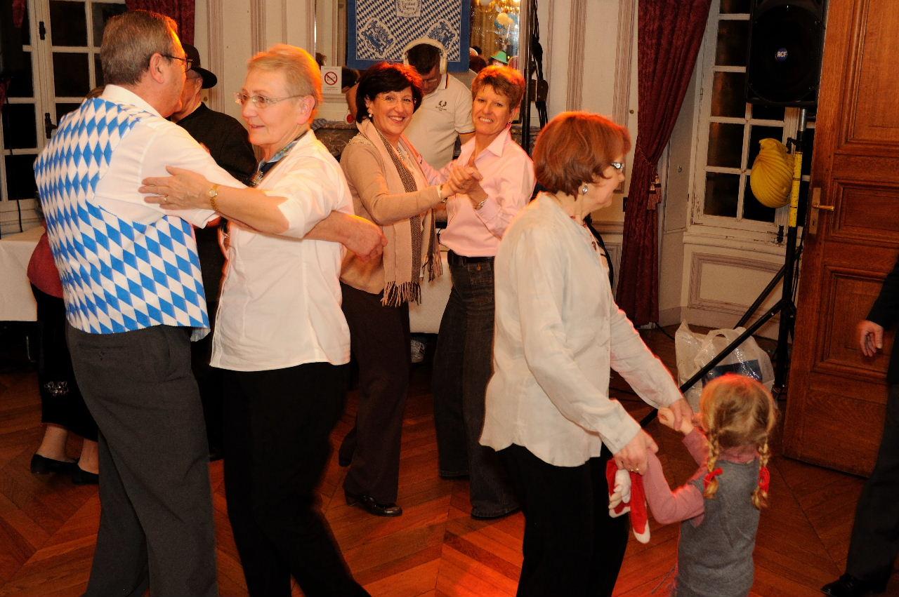 Tänzer und Tänzerin