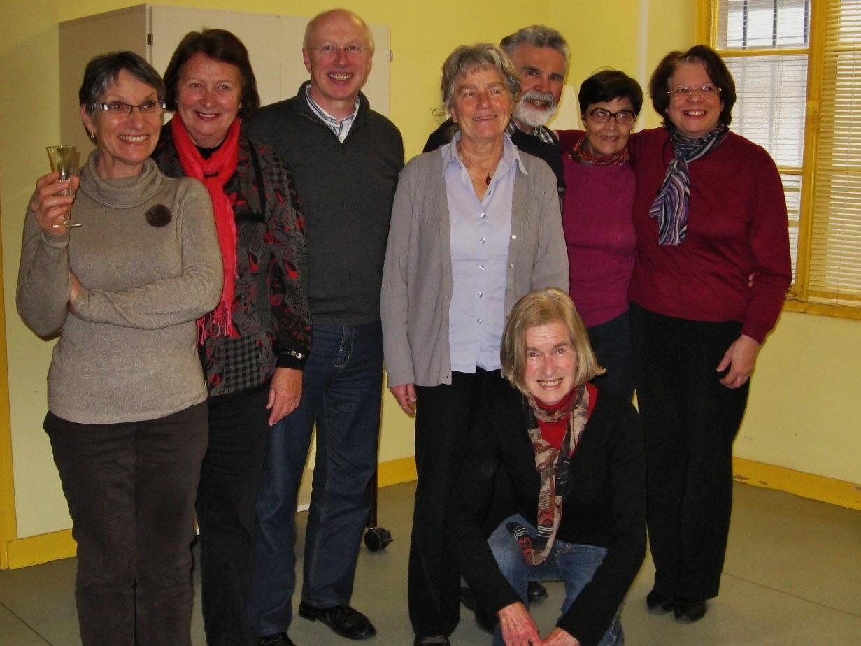 Mme Hilde Hawlicek ministre de la culture en visite à Compiègne
