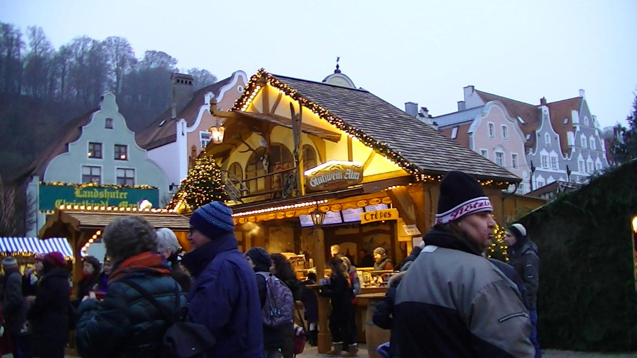 Marché de Noël à Landshut