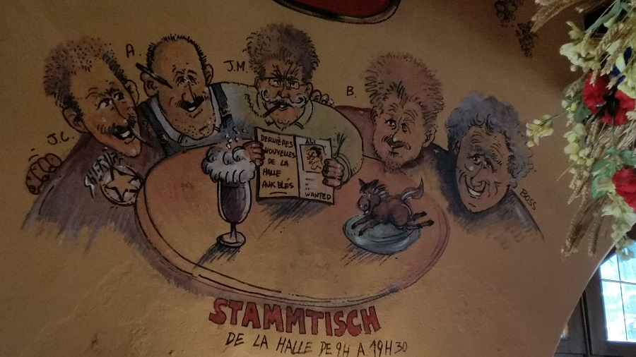 Stammtisch à Obernai