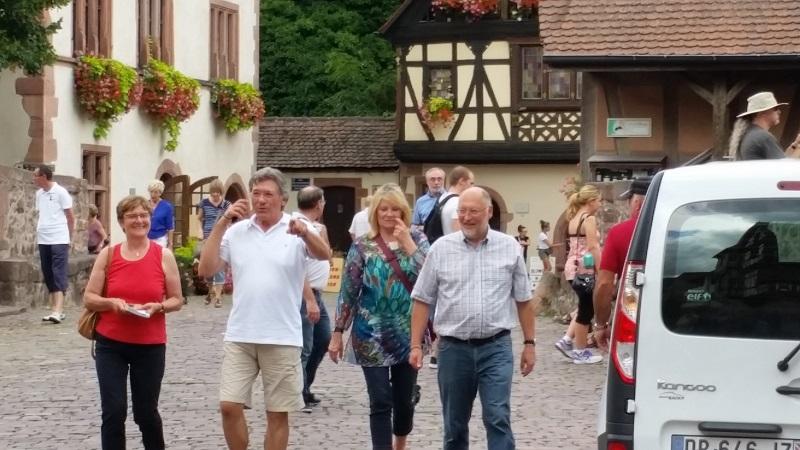Peter, Rose, Hans und Lydia