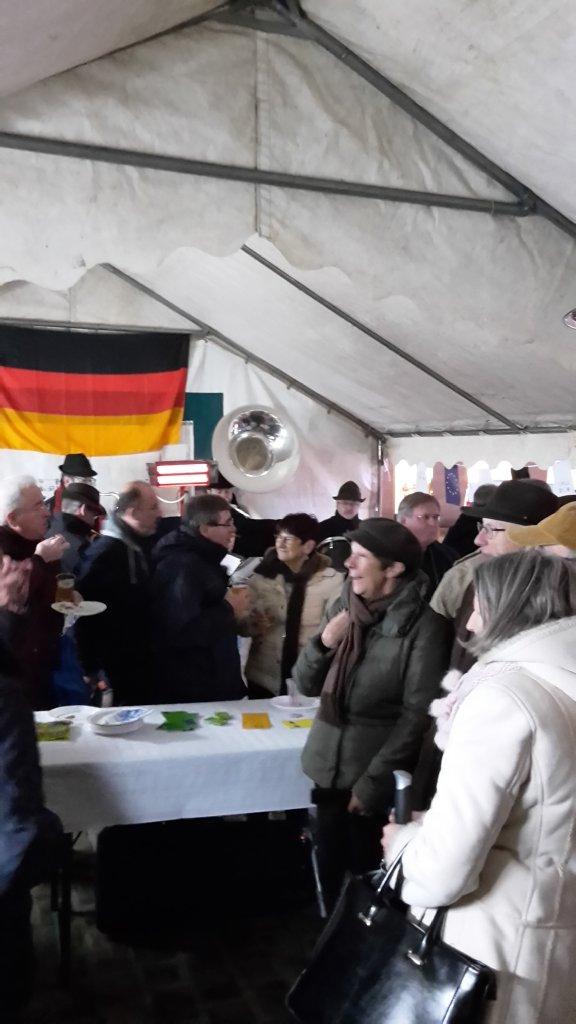 la fête de l'amitiè Franco-Allemande