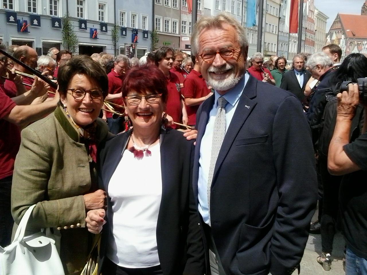 Gaby Gewies, Michèle et Robert Gewies