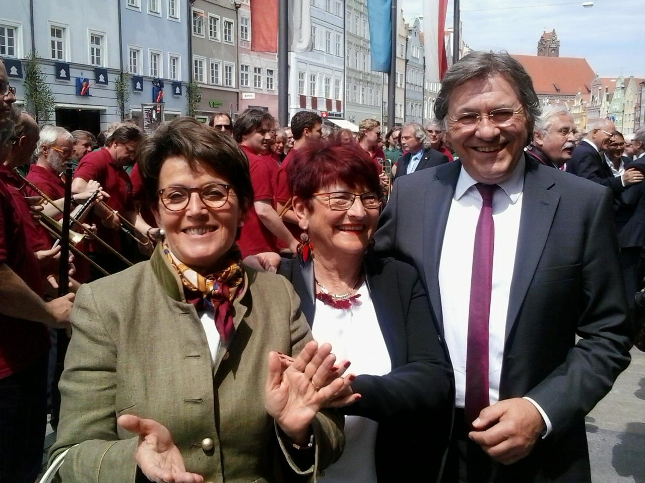 Gaby Gewies, Michèle et Josef Obermeier