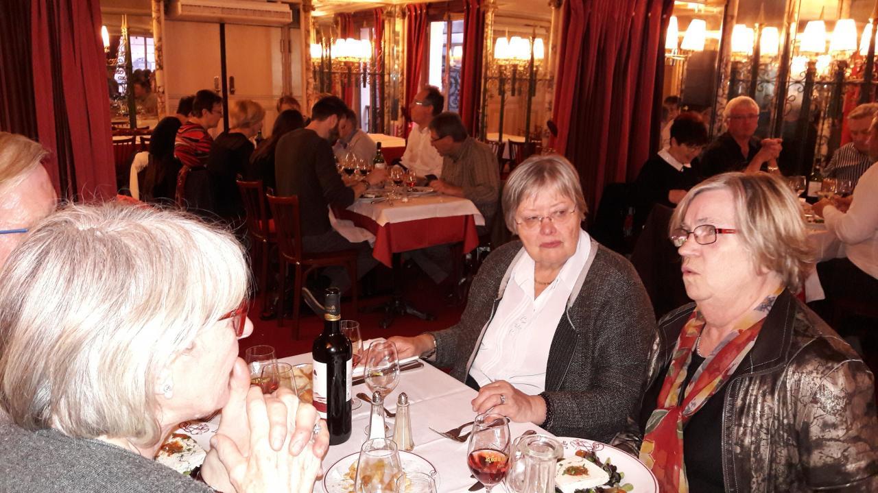 Au restaurant Les Noces de Jeannette
