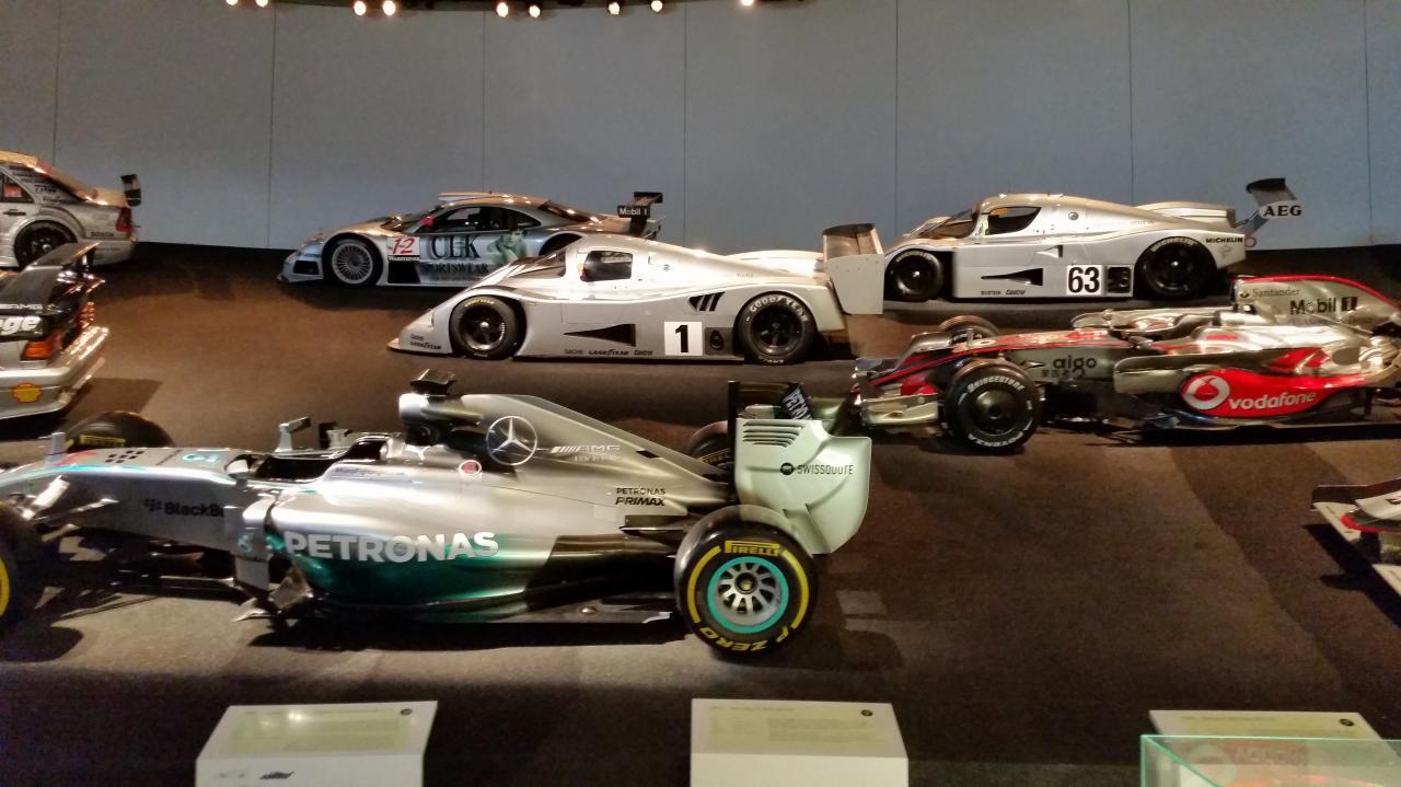 Stuttgart Visite musée Mercedes Benz