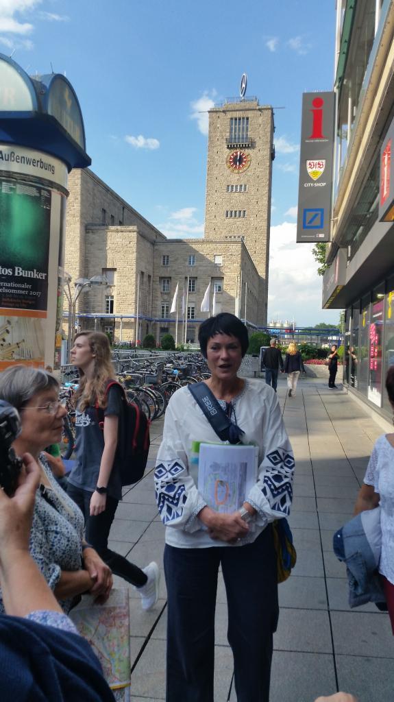 Stuttgart Visite guidée du centre ville la tour de la gare avec l'étoile