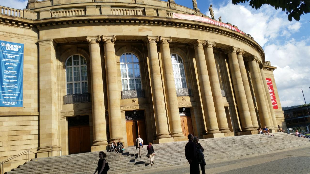 Stuttgart  Visite guidée du centre ville