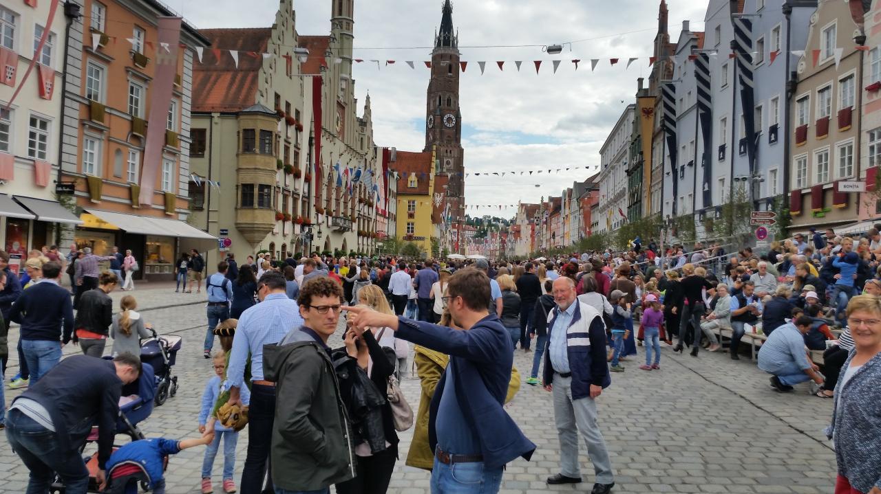 Altstadt le samedi après midi
