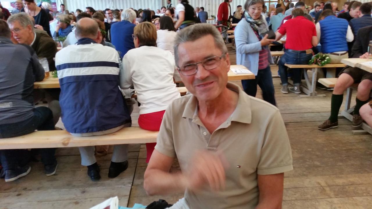 Roland de la Verein Landshut-Compiègne sous la tente Zum Spielmann