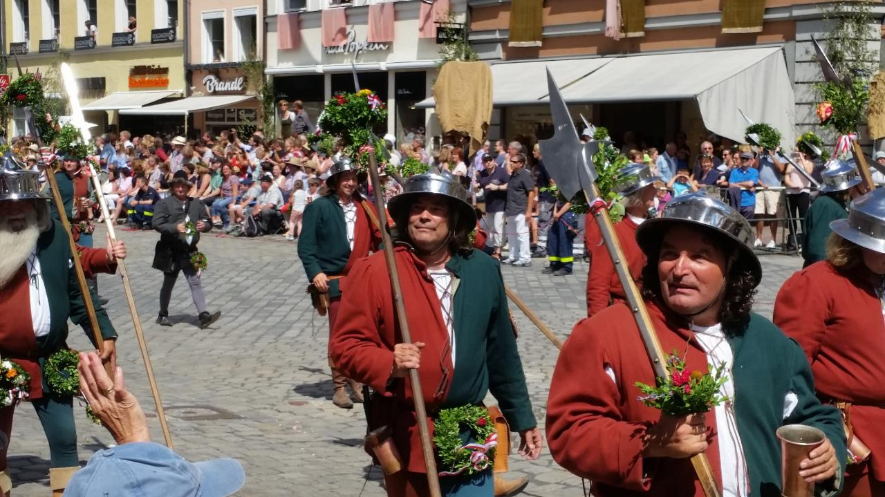 Stadtknechte les gardes de la ville
