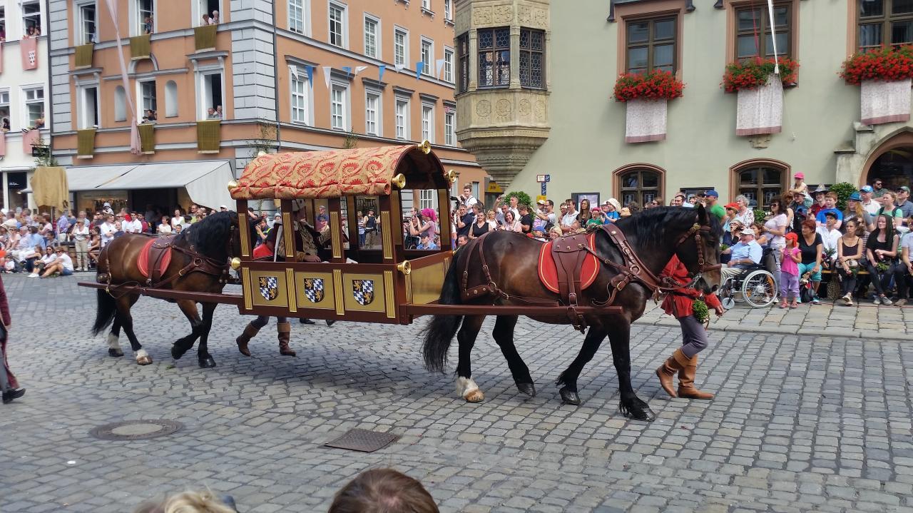 Herzog Ludwig der Reiche von Bayern-Landshut le père du marié