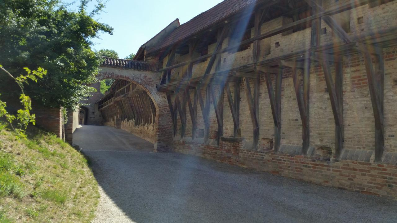 Burg Trausnitz les fortifications