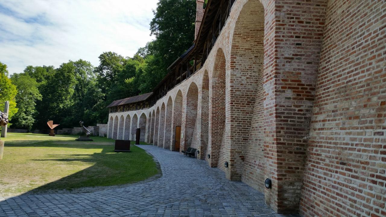 Fortifications et musée de la sculpture