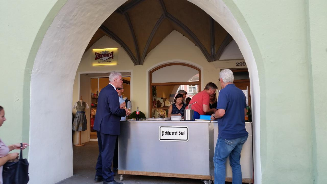 Weisswurst Susi une étape incontournable dans Altstadt