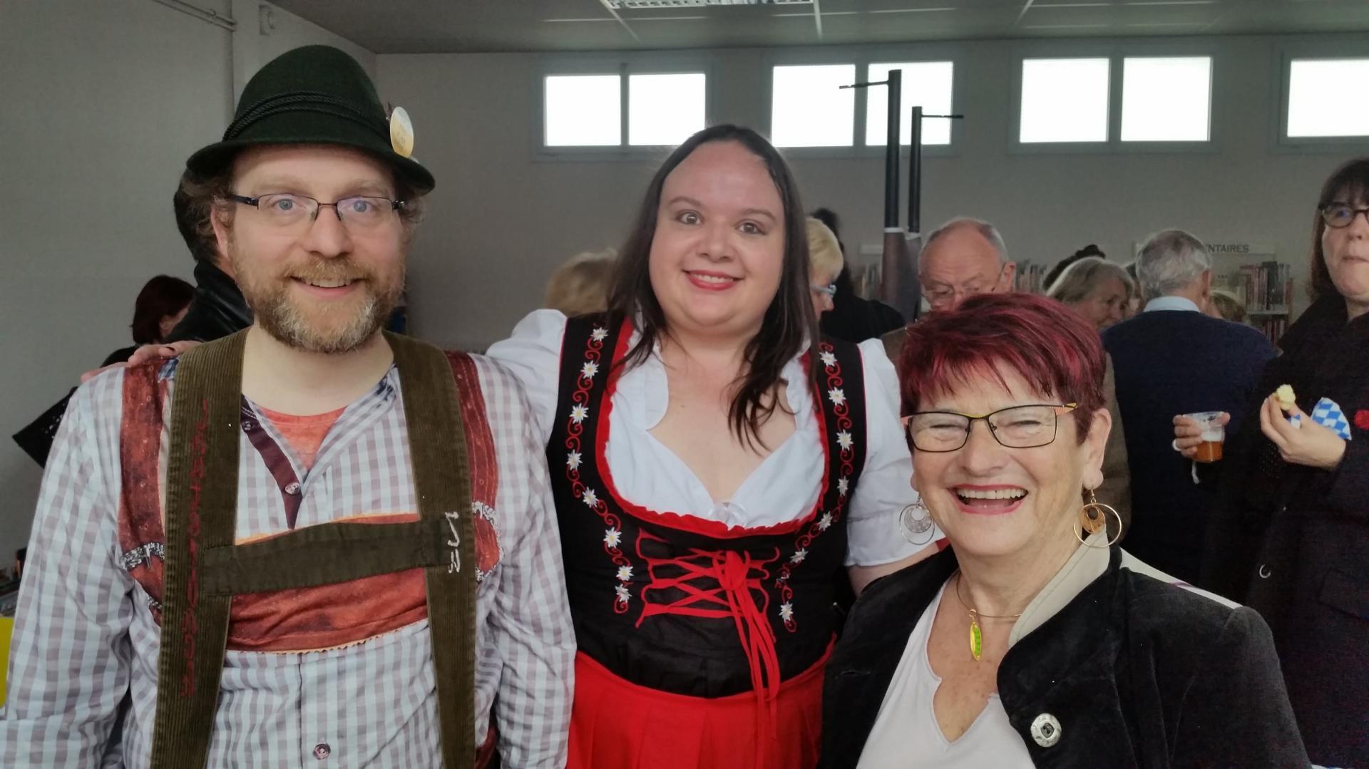 La conférencière, son mari bavarois et Michèle