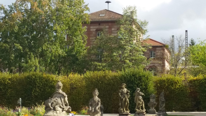 La gare prés du chateau