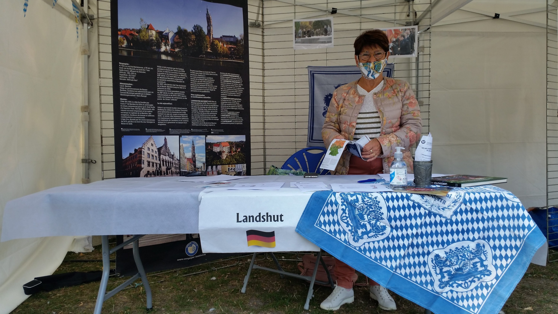 Le stand de Compiègne-Landshut
