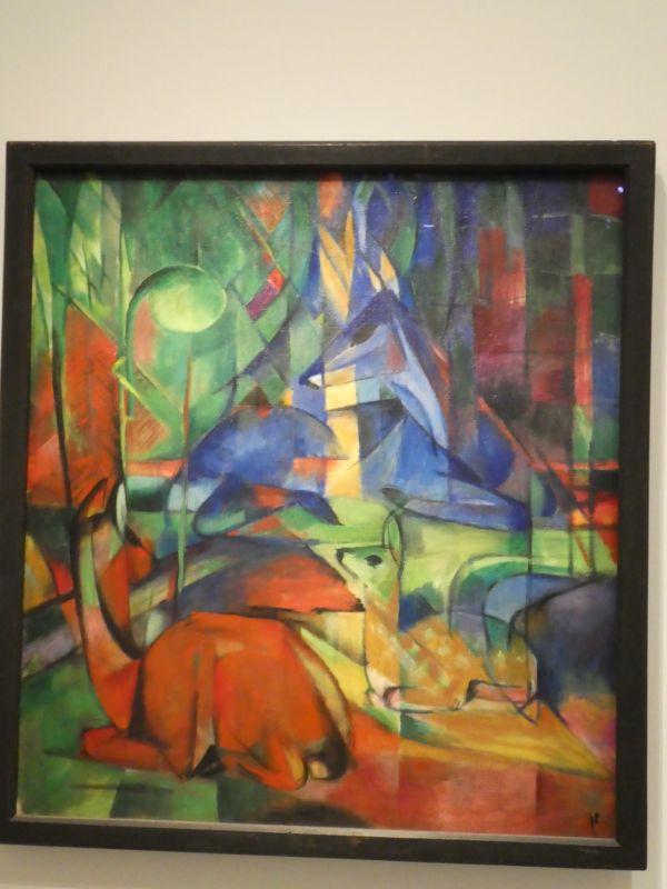 Franz MARC : Daims dans la forêt