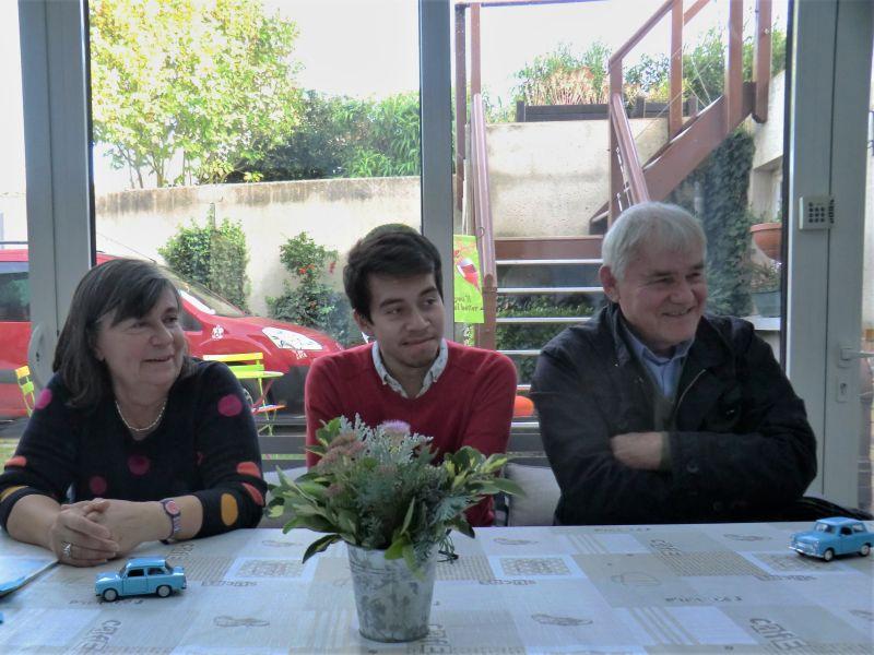 Rencontre conversation avec Michael chez Danièle