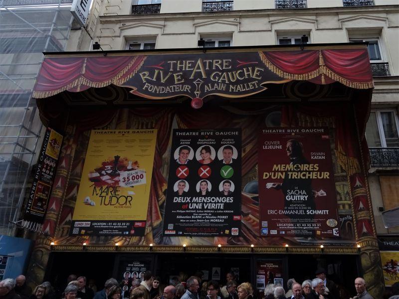 A l'affiche du théâtre Rive Gauche