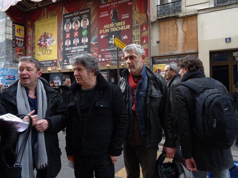 Frédéric Bourdaly, Lionnel Astier et Philippe Maymat