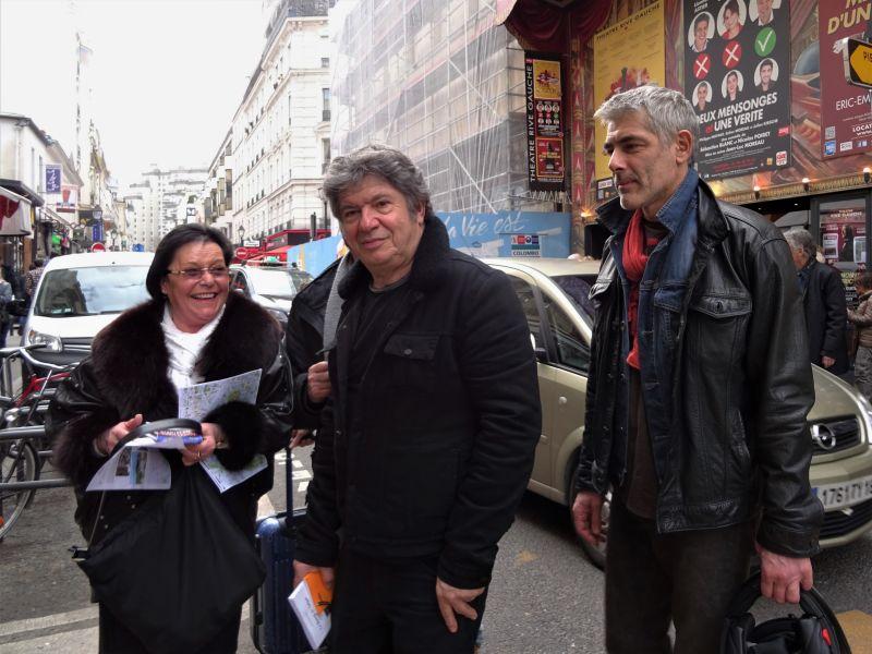 Sylvie, Lionnel Astier et Philippe Maymat