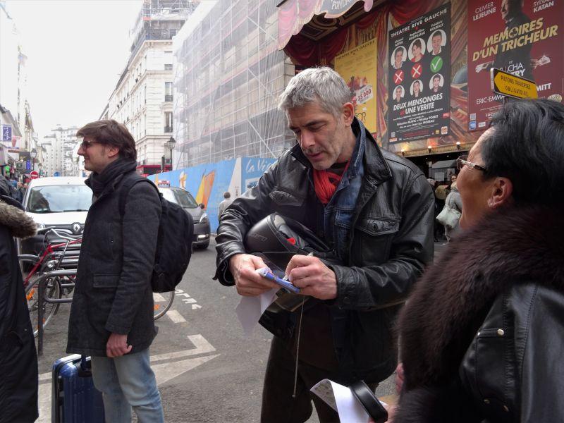 Un des acteurs Philippe Maymat