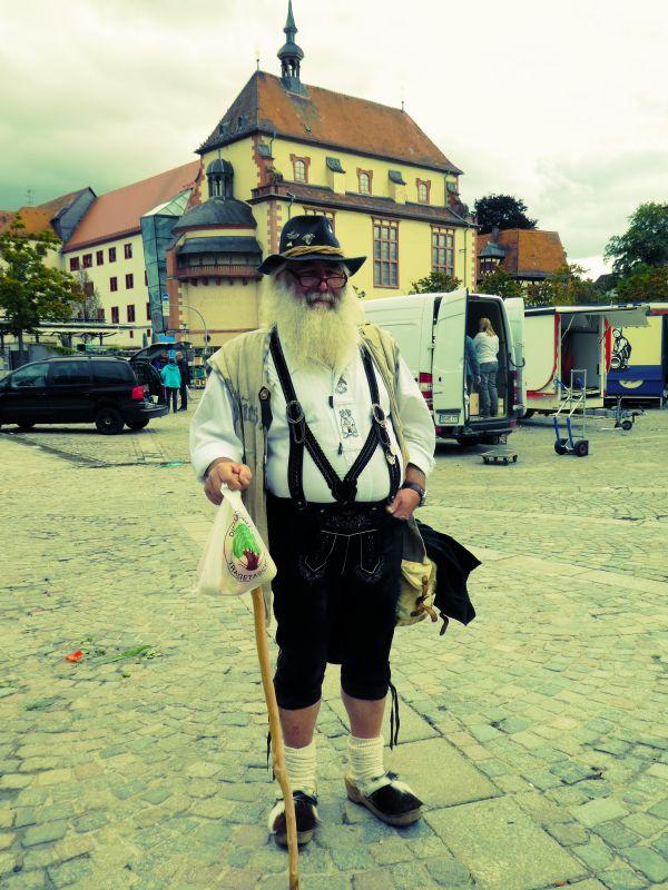 Sur le marché à Aschaffenburg