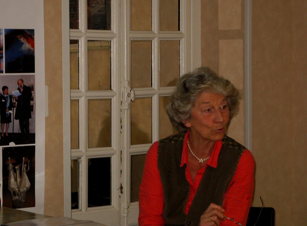 Marie-Noëlle Snoy conférencière au Palais Impérial