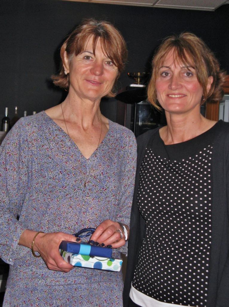 Maryse et une professeur de la Berufschule II