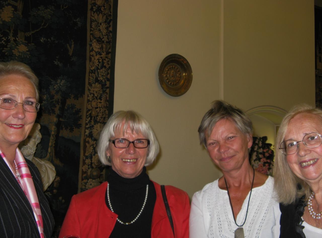 Mme Gerd Steinberger et Colette