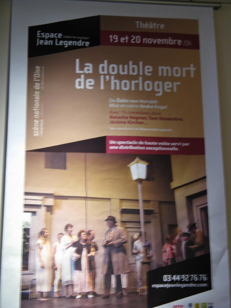 L'affiche de la pièce