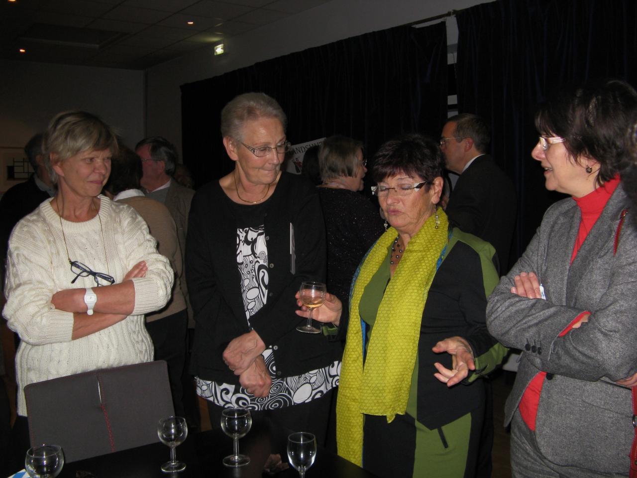 Michèle avait organisé avec l'EJL le cocktail