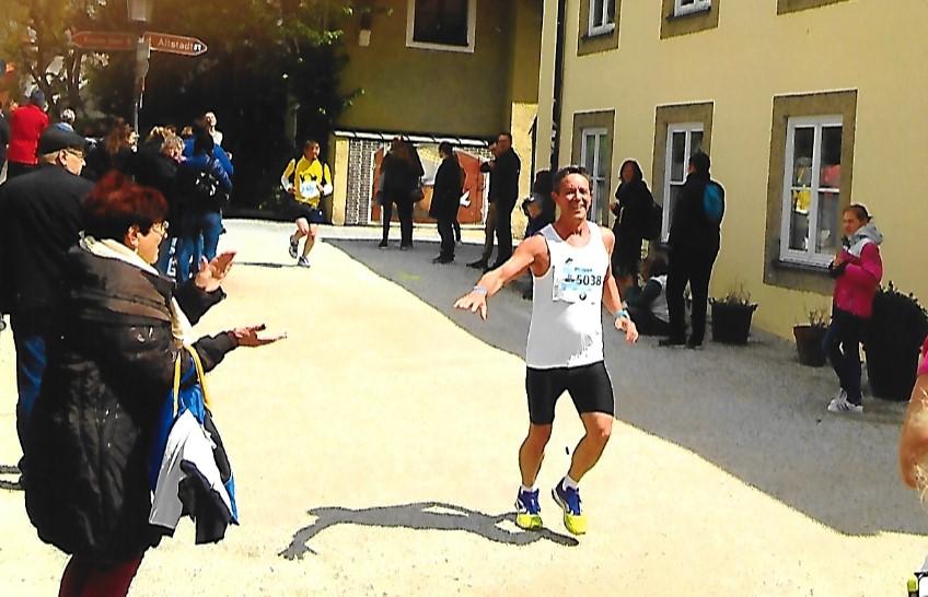 Landshut läuft  Philippe au passage