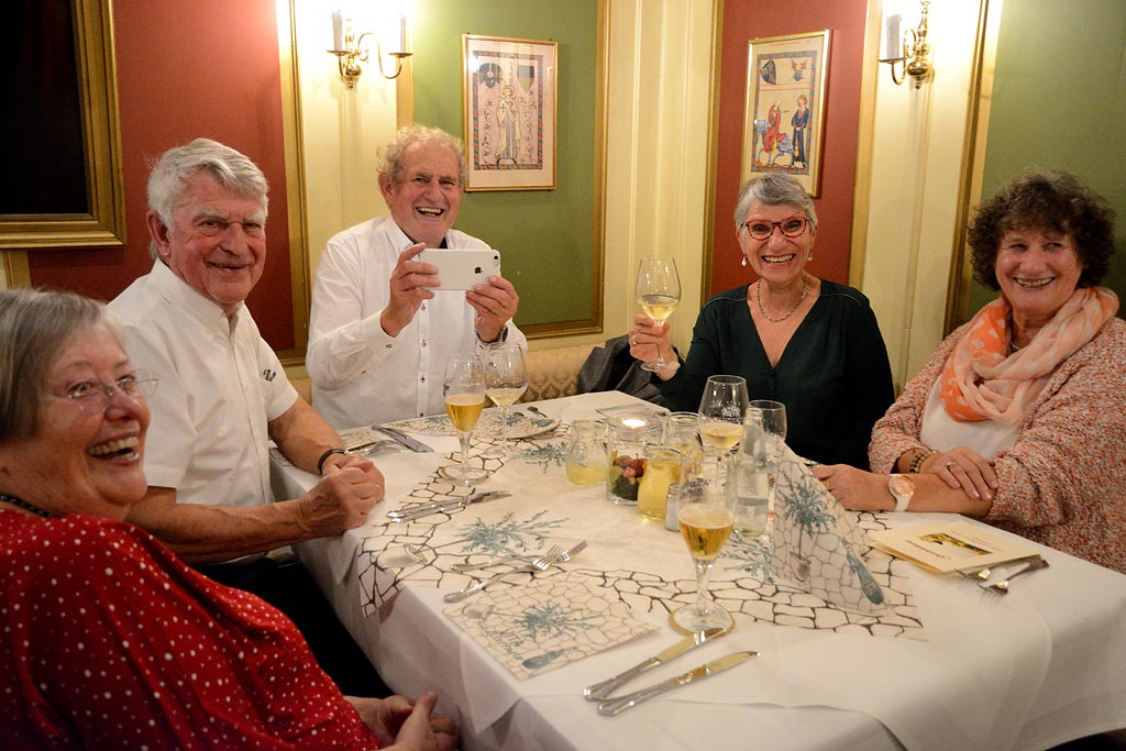 Avec Peter, Marc et Marie-Agnès