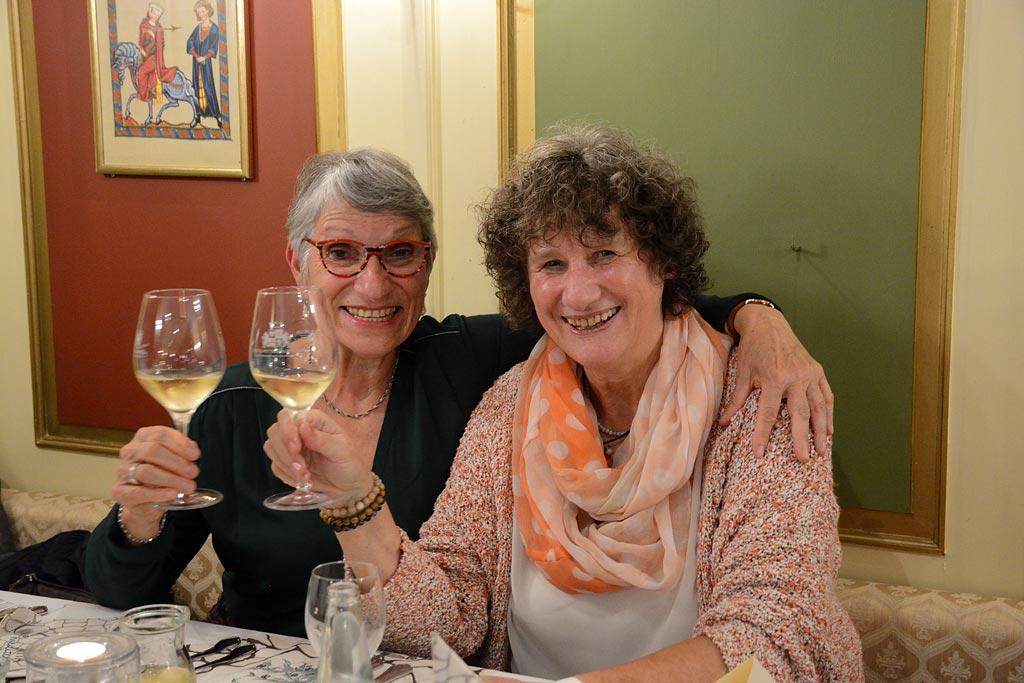 Marie-Agnès et Lydia