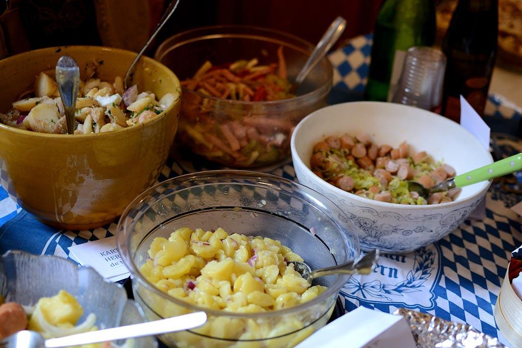 Le buffet aux couleurs de la Bavière
