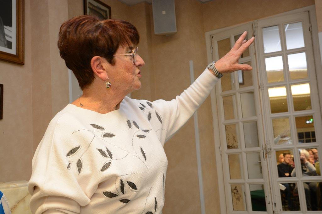 Assemblée Générale La présidente Michèle