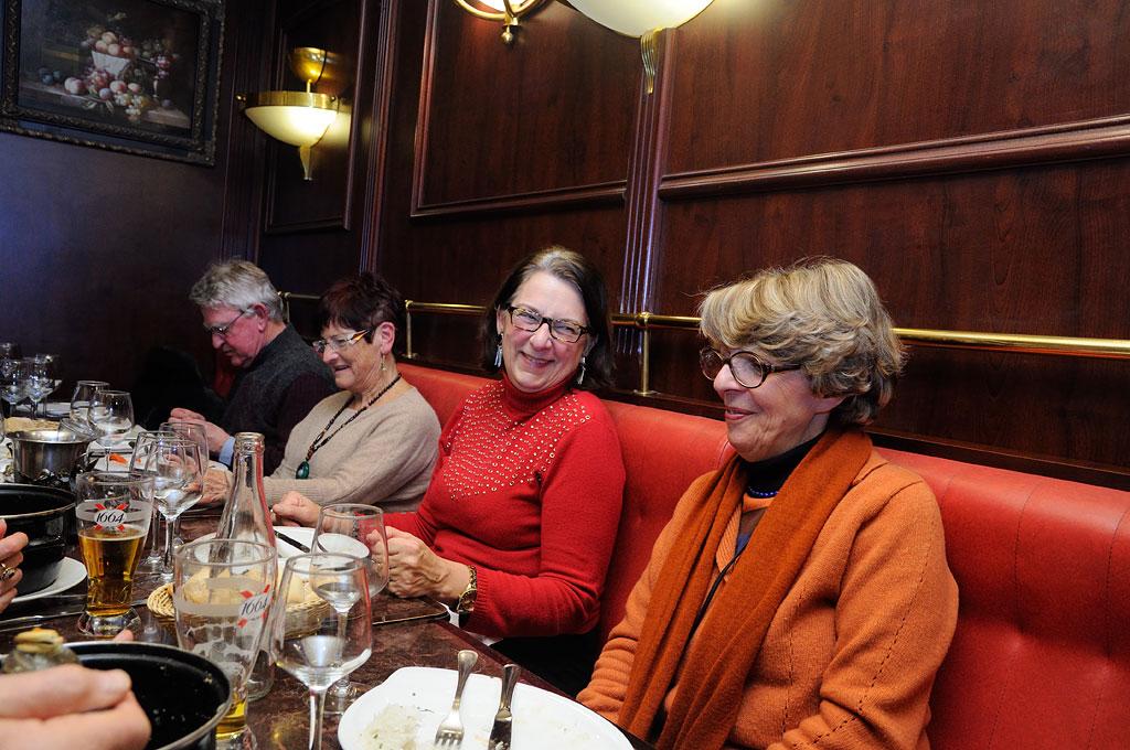 Michèle, Sylviane et Alice