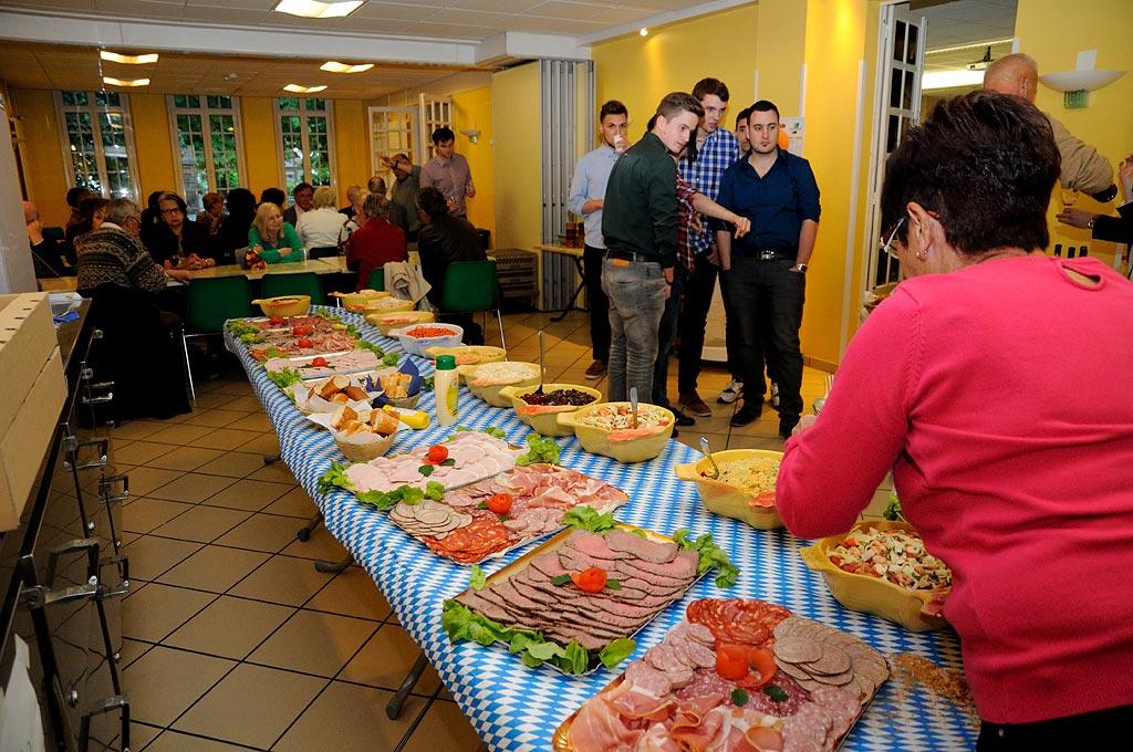 Stammtisch à la maison de l'Europe avec la Berufsschule I