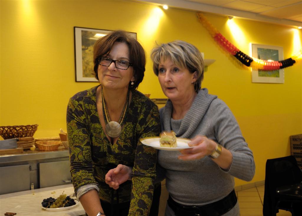 Sylviane et Anne Marie