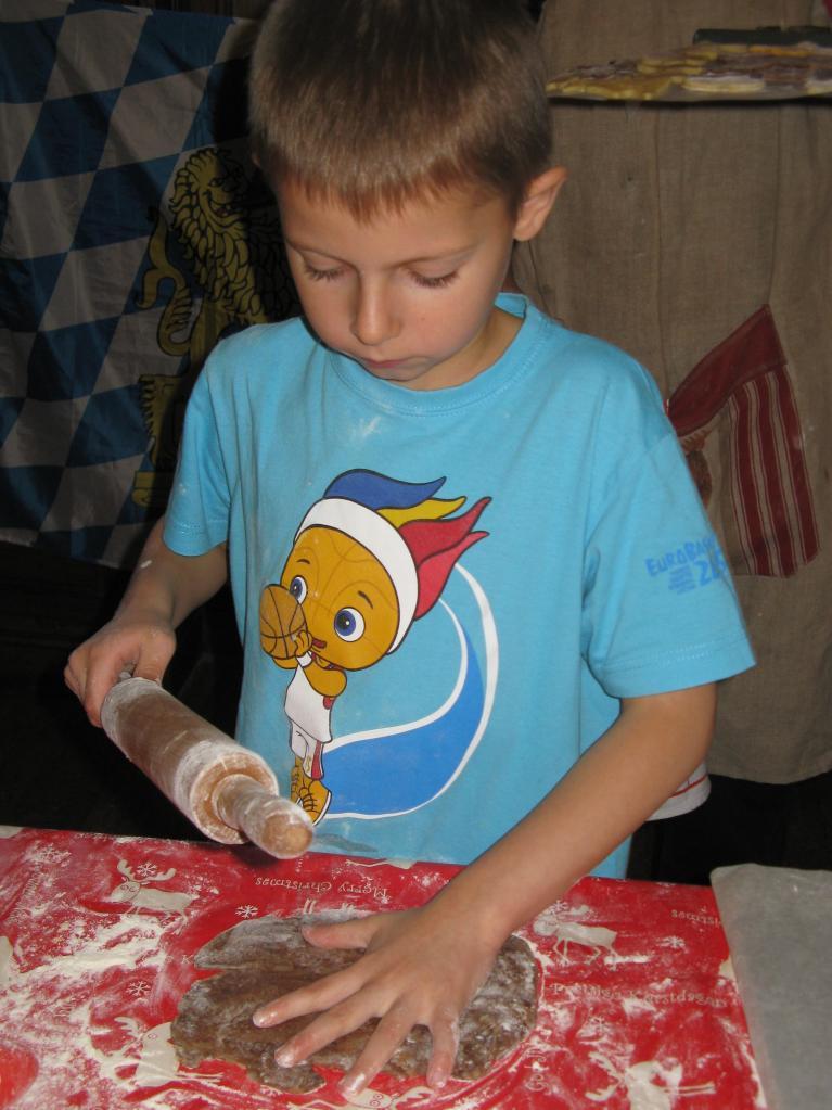 Le goûter des enfants pour la Saint Nicolas