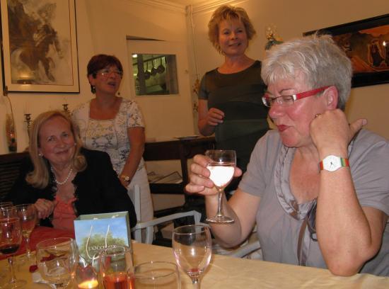 Au restaurant avec les professeurs de la berufschule 2