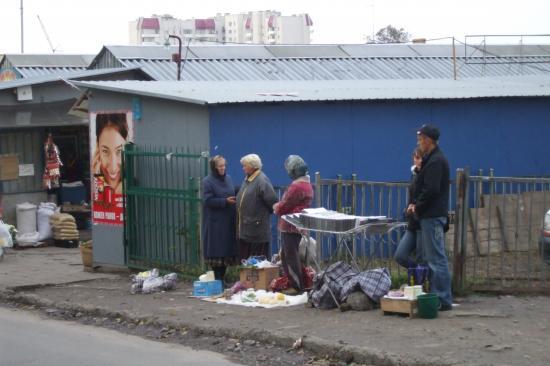 Le marché à Vinniky