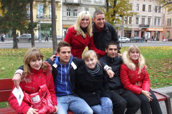 Rencontre avec les jeunes ukrainiennes