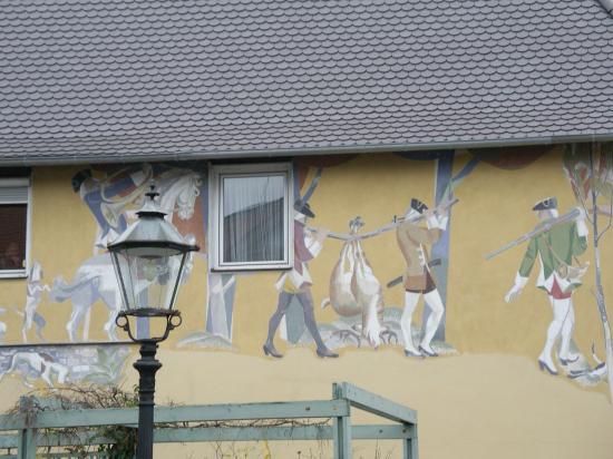 Schwetzingen façade