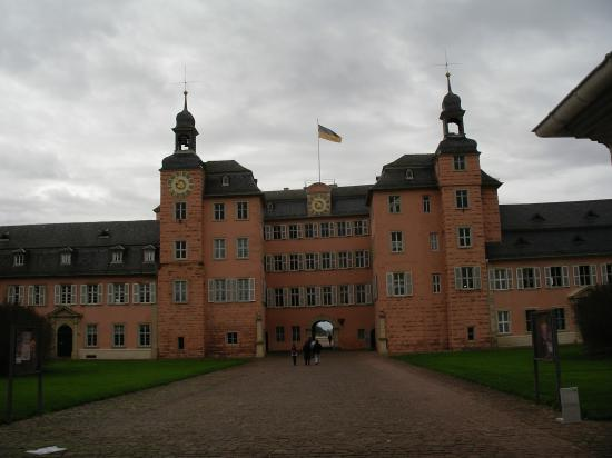 Schwetzingen le chateau