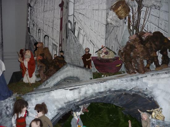 La créche faite par les prisonniers