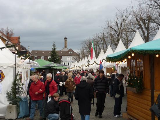 Schwetzingen le marché de Noël